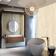 Cocoplum Master Bath - Glam - Bath