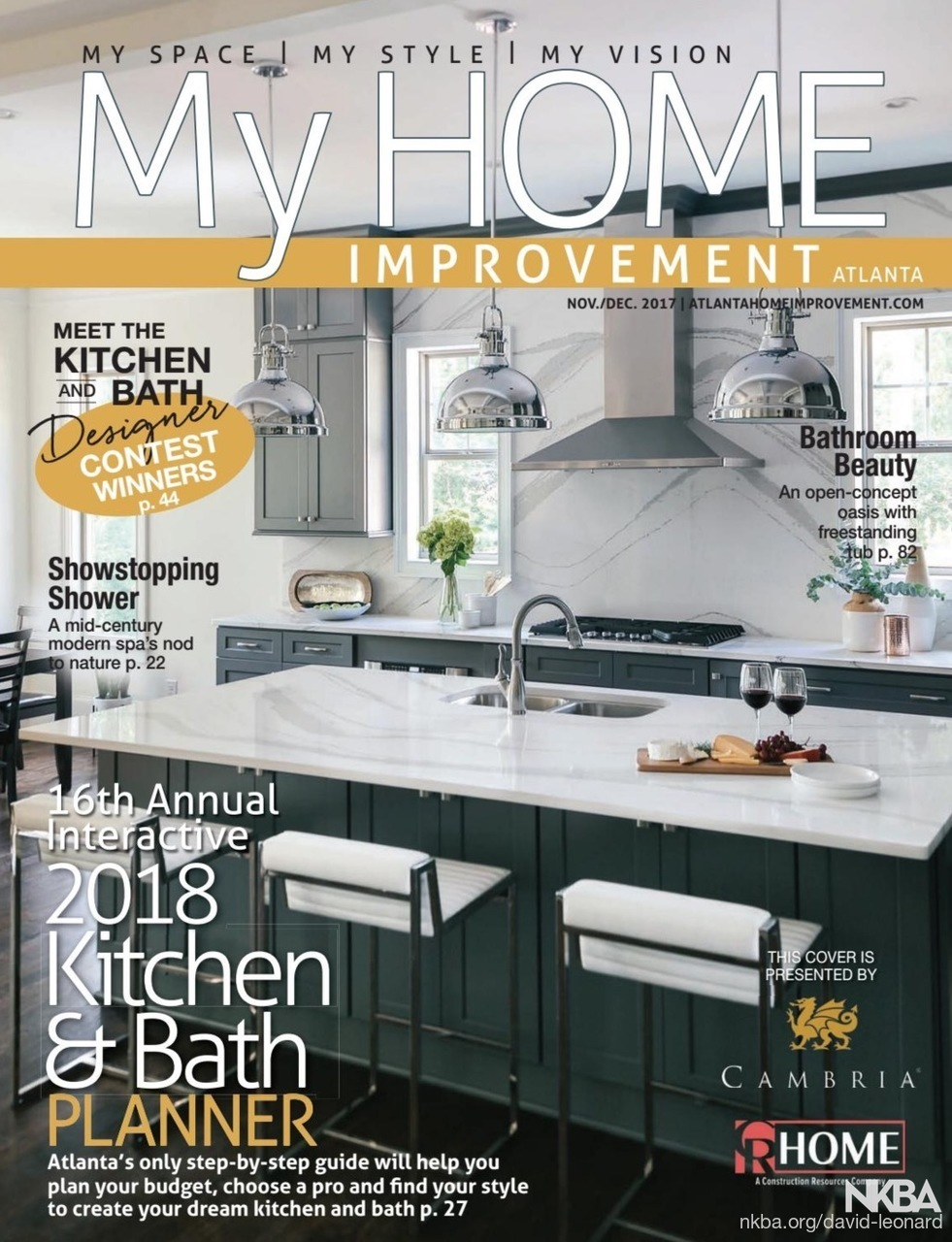Front Cover Of 2018 Kitchen U0026 Bath Planner   Transitional   Kitchen