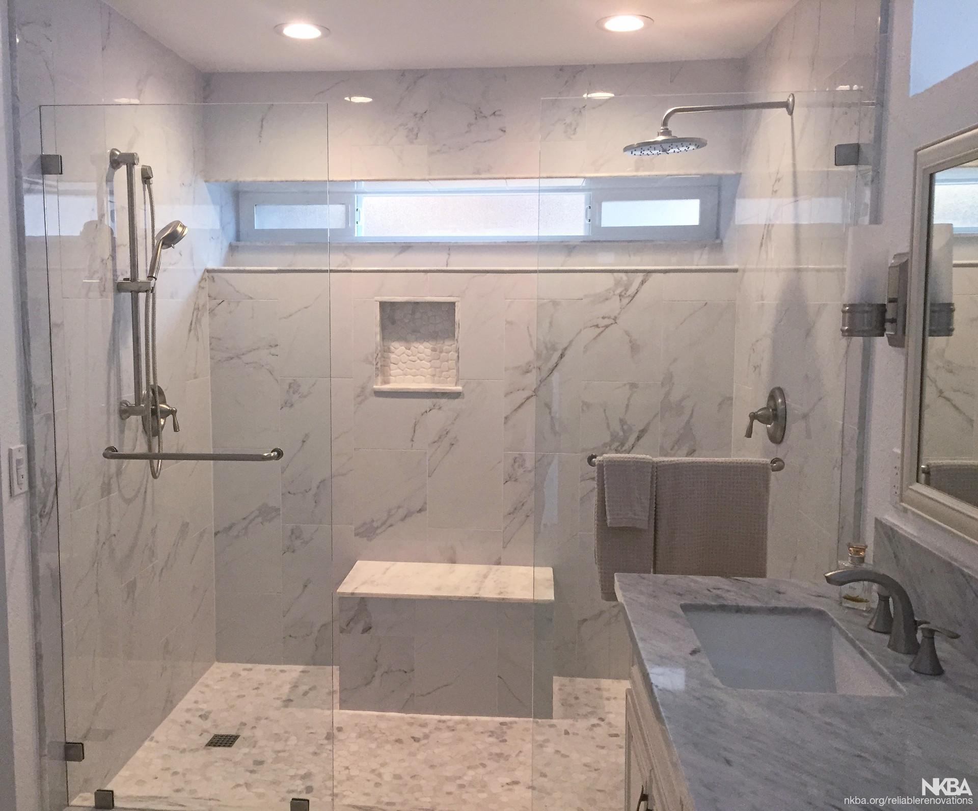 Master Bath Walk In Shower Nkba