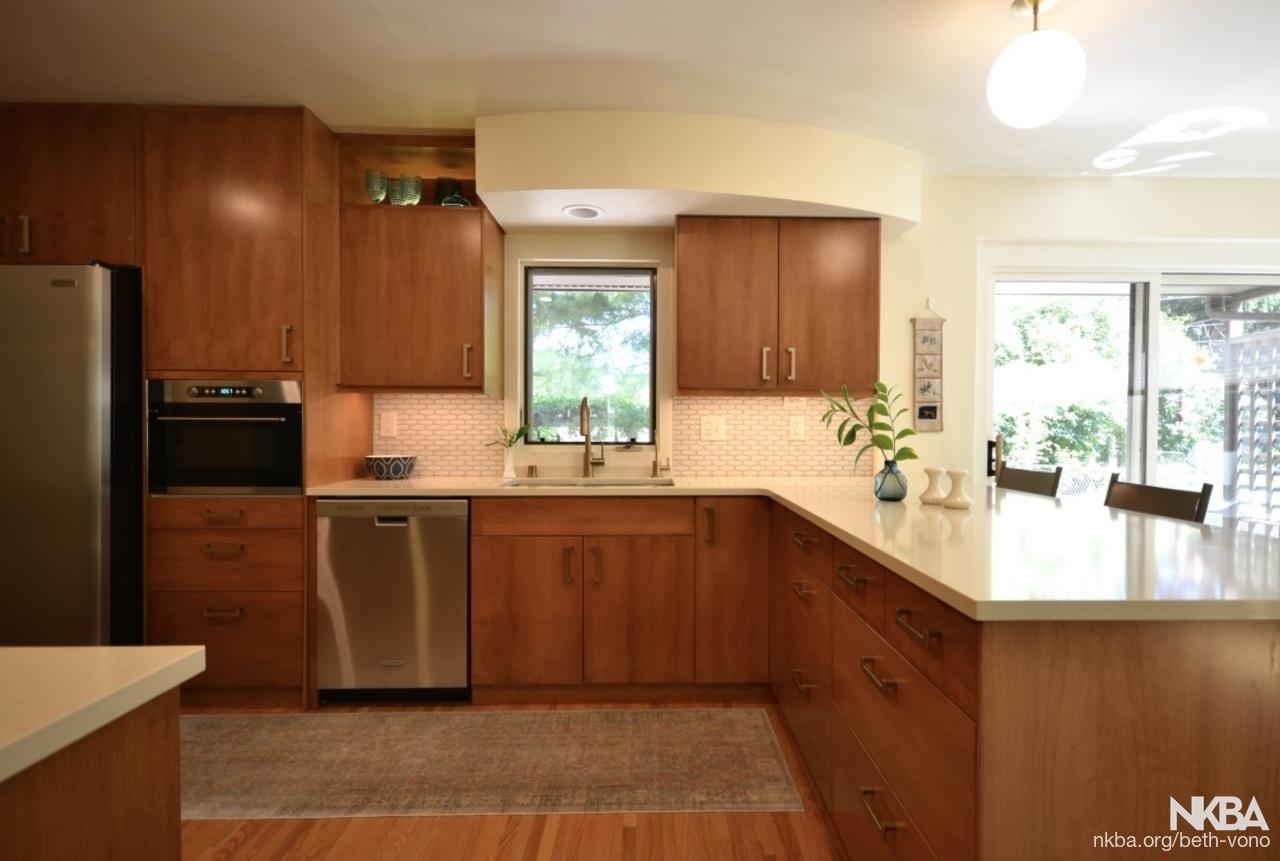 Mid Century Kitchen Remodel Nkba