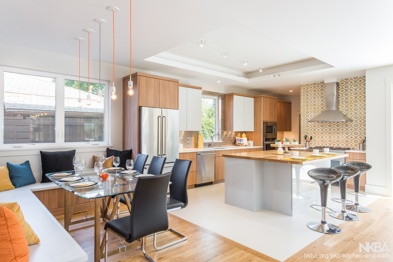 Forest Street - Contemporary Kitchen - NKBA