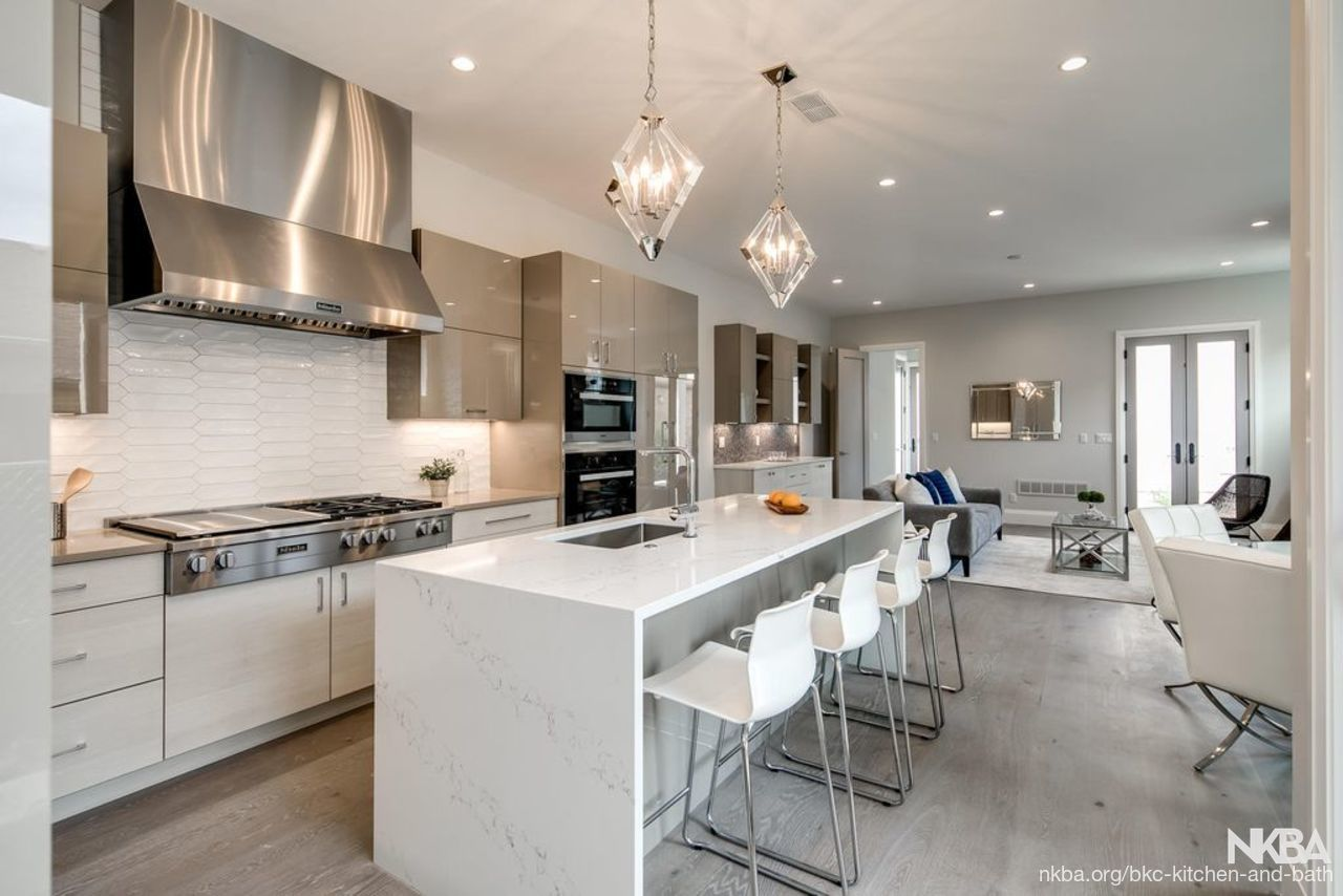 Monroe Street - Contemporary Kitchen - NKBA