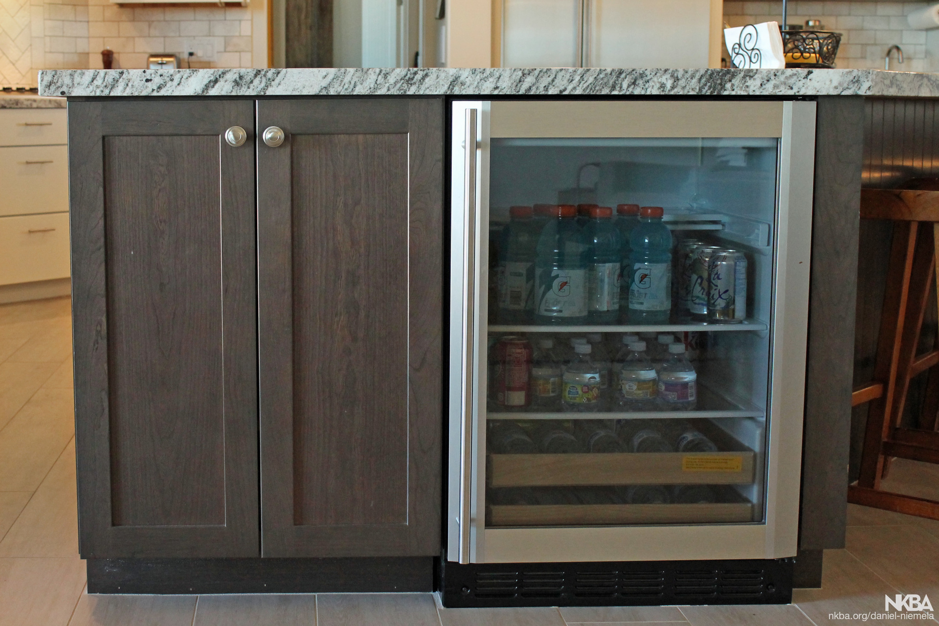 Island Beverage Refrigerator Nkba