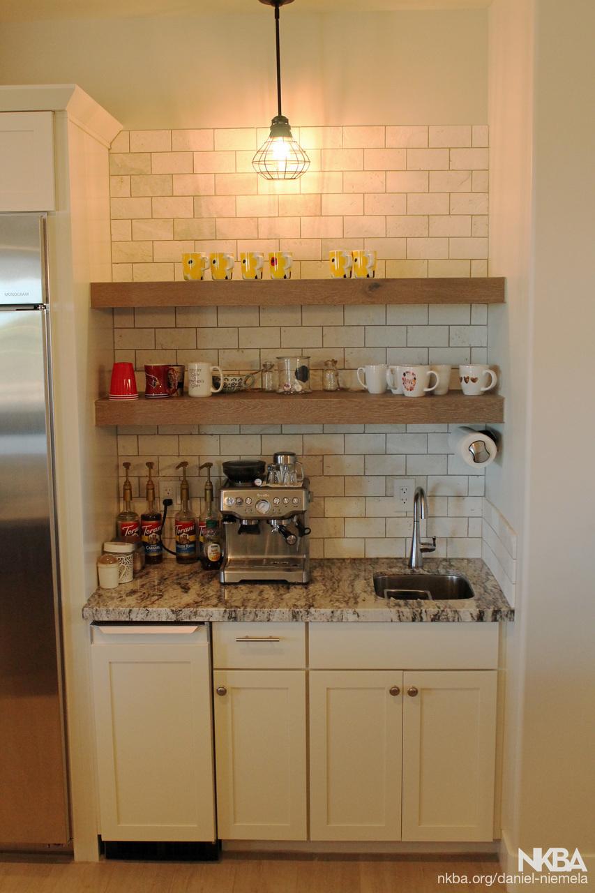 Coffee Bar in Kitchen - NKBA