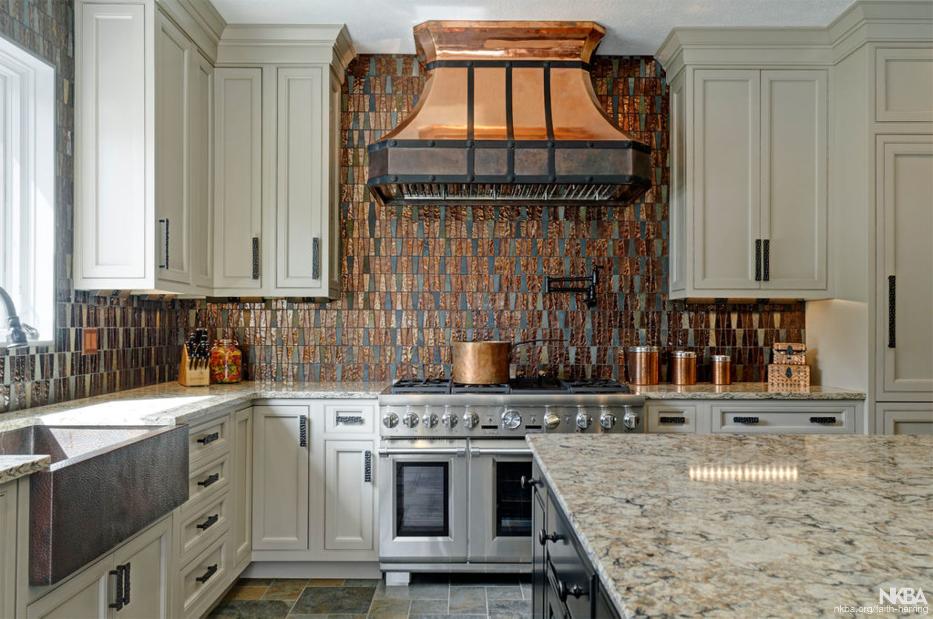 Western Rustic Kitchen Design NKBA