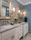 Bloomfield Hills Hall Bathroom Remodel - Transitional - Bath