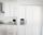 Cabinetry Paneled Fridge & Freezer - Transitional - Kitchen