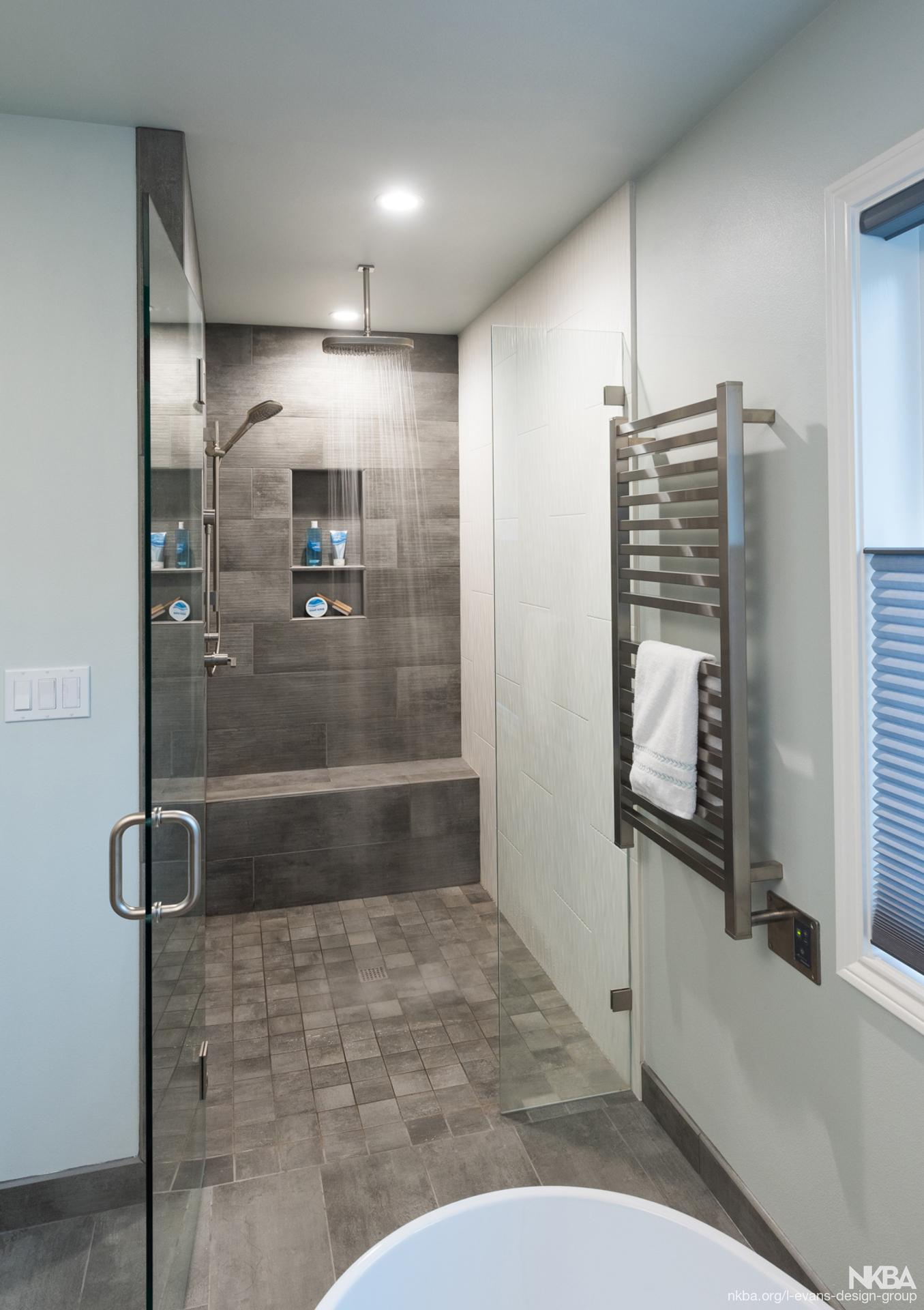 stunning walk in shower