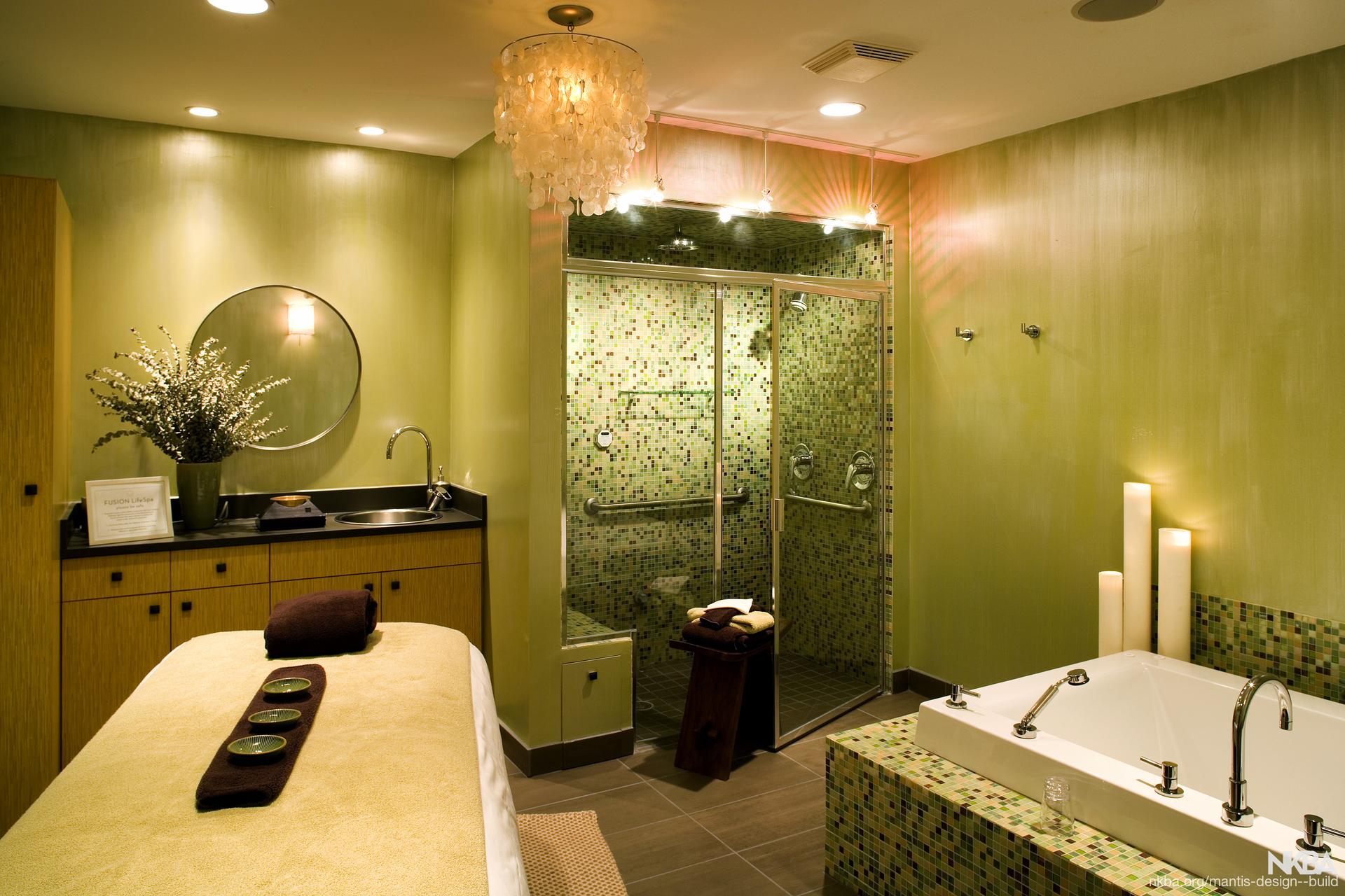 Modern Zen Spa Room Nkba