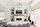Great room floating shelves - Farmhouse - Kitchen