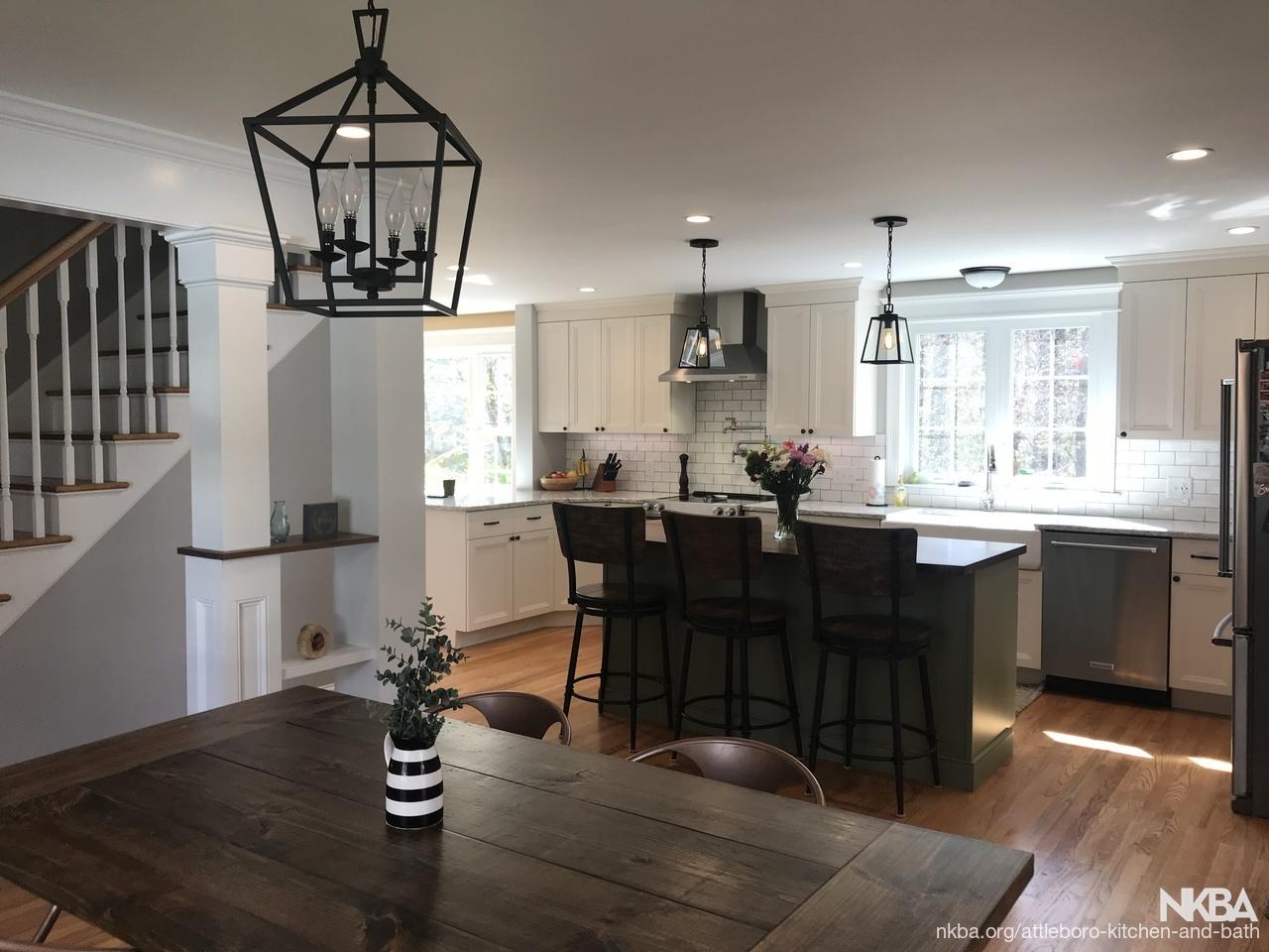 New England Farmhouse - NKBA