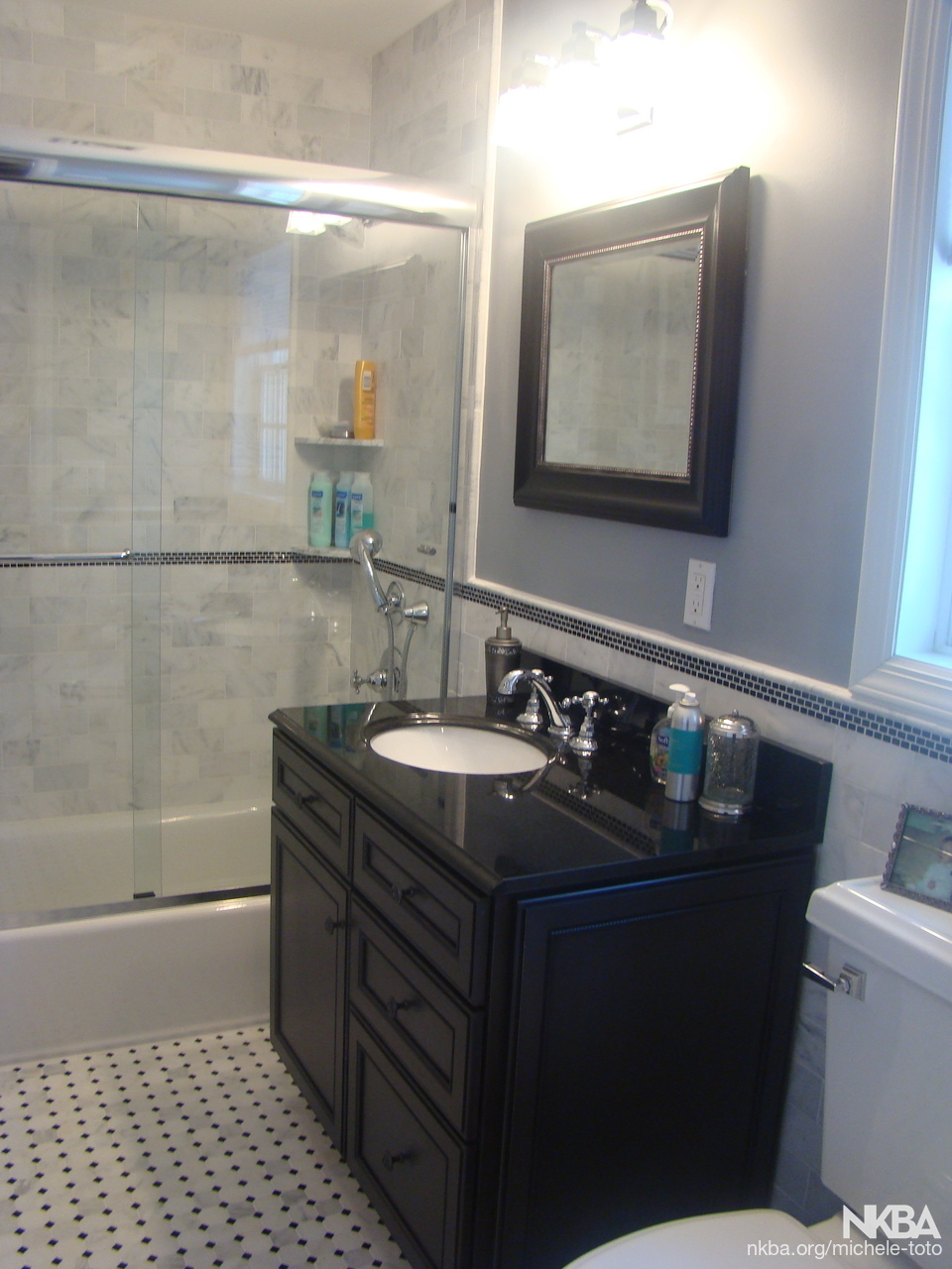 Outstanding Bathroom Thomasville Cabinetry With Nemo Tiles Nkba Interior Design Ideas Clesiryabchikinfo