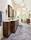 Herringbone Floor for Master - Transitional - Bath