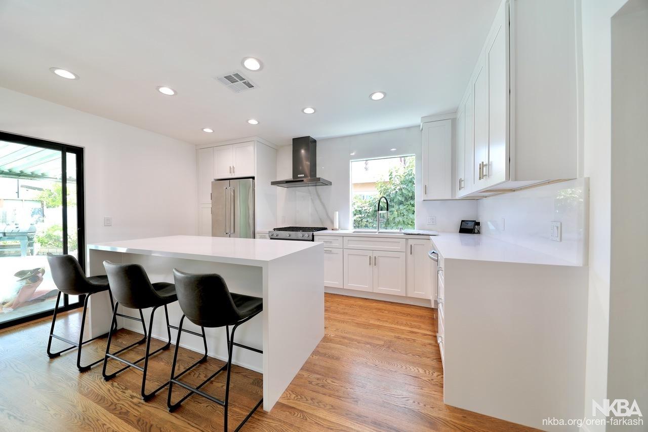 Modern Contemporary Kitchen Remodel - Sherman Oaks, CA - NKBA