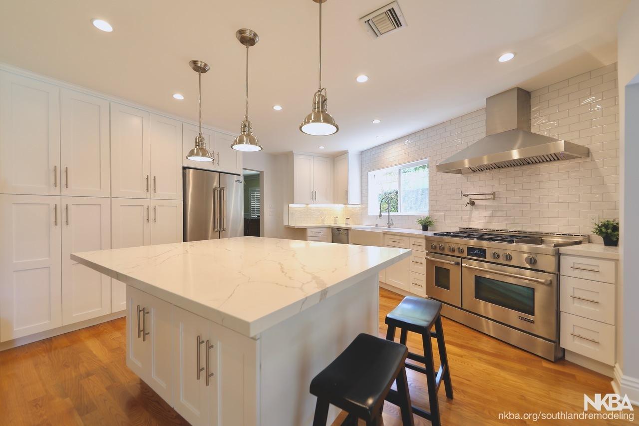 Transitional Kitchen Remodel - Burbank, CA - NKBA
