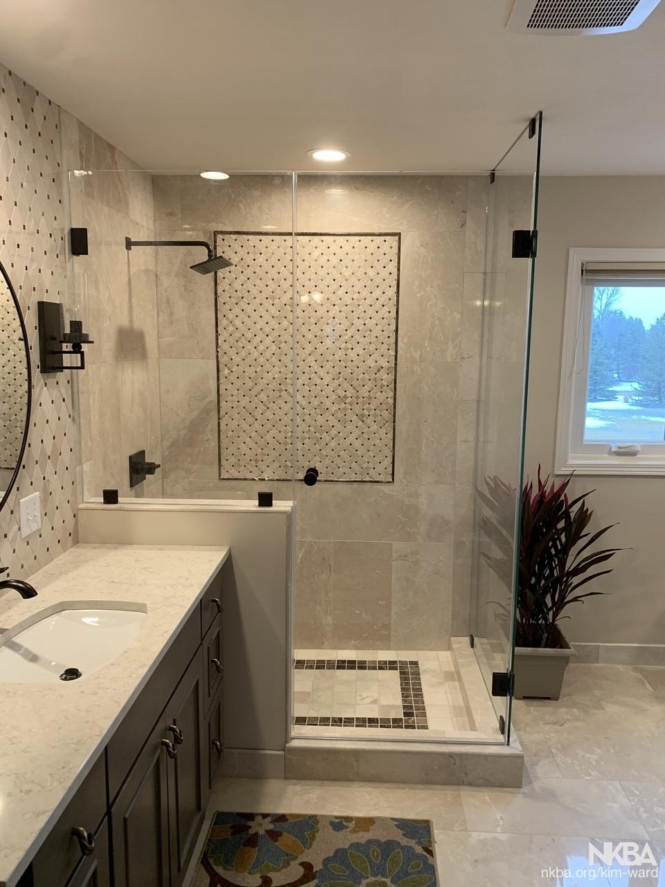 Travertine Bathroom Nkba