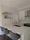 White and Brass Kitchen - Contemporary - Kitchen