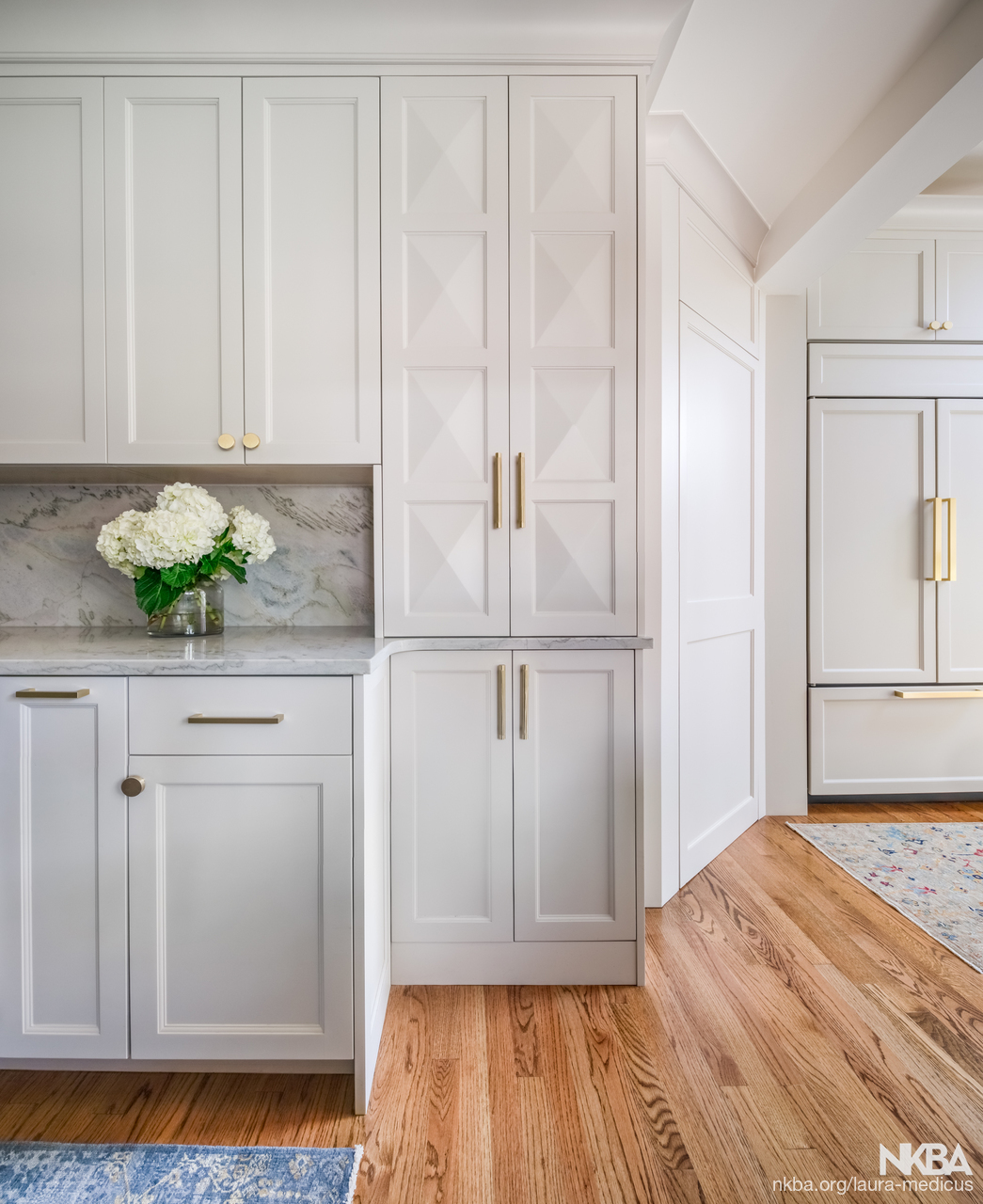 Classic Kitchen With Hidden Pantry Nkba