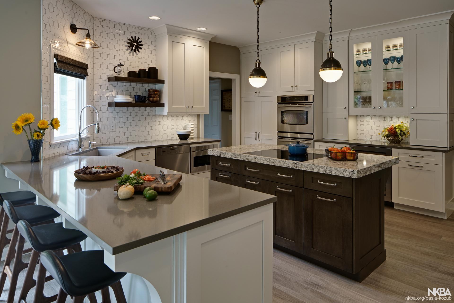 Elegantly Stylish Mid Century Modern Kitchen Design Nkba