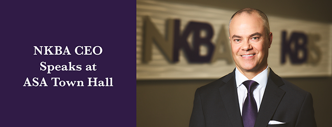 NKBA CEO Speaks at ASA Town Hall