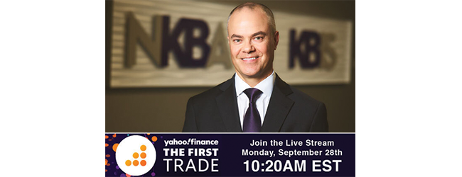 NKBA CEO Bill Darcy to Appear on Yahoo Finance