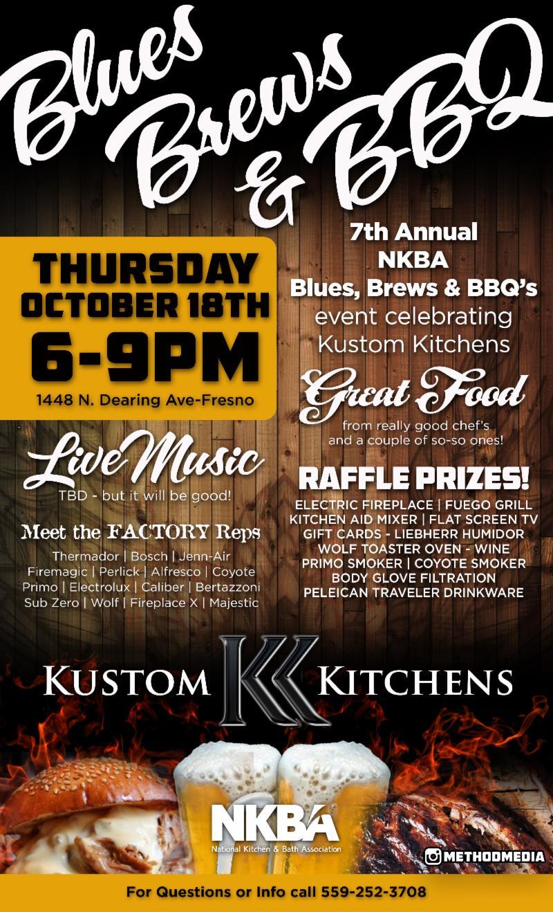 Kustom Kitchens Fresno California