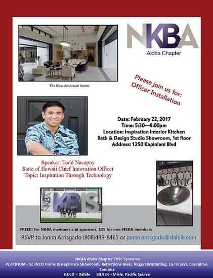 Aloha Chapter Event